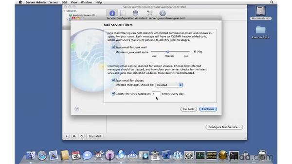 Auto-configuring Mail services: Mac OS X Server 10.6 Snow Leopard Essential Training