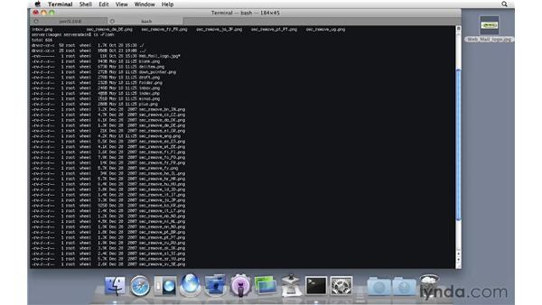 Configuring SquirrelMail to support web mail: Mac OS X Server 10.6 Snow Leopard Essential Training