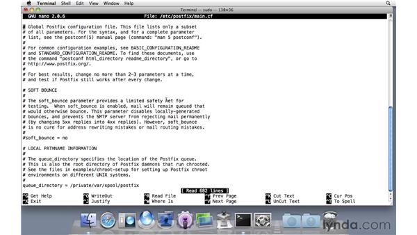 Fixing greylisting in Mail Services: Mac OS X Server 10.6 Snow Leopard Essential Training