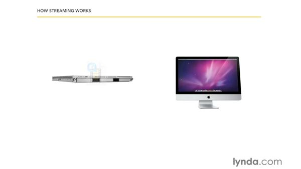 Types of video streaming: Mac OS X Server 10.6 Snow Leopard Essential Training