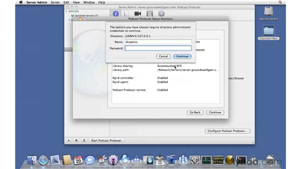 Express setup: Mac OS X Server 10.6 Snow Leopard Essential Training