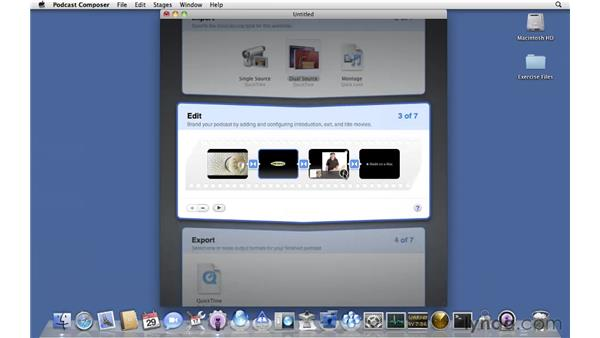 Creating a custom dual-source workflow: Mac OS X Server 10.6 Snow Leopard Essential Training