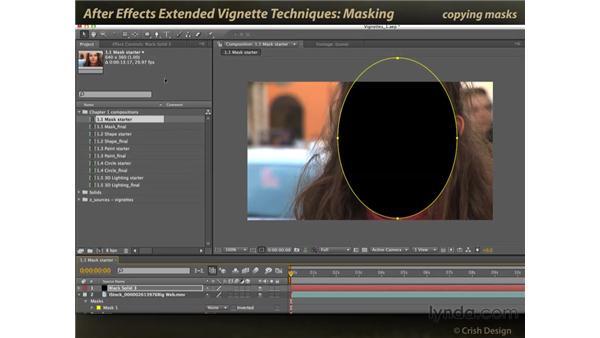 Masks: After Effects: Extended Vignette Techniques