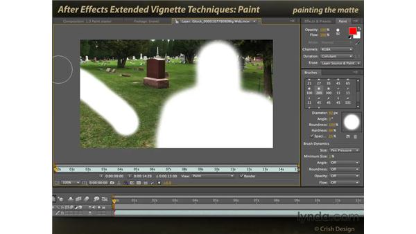Paint: After Effects: Extended Vignette Techniques
