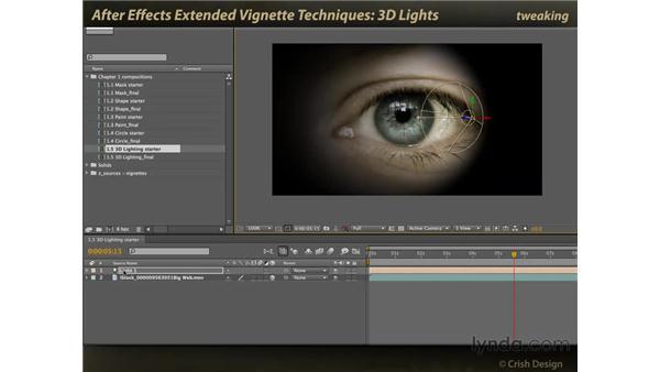 3D lights: After Effects: Extended Vignette Techniques