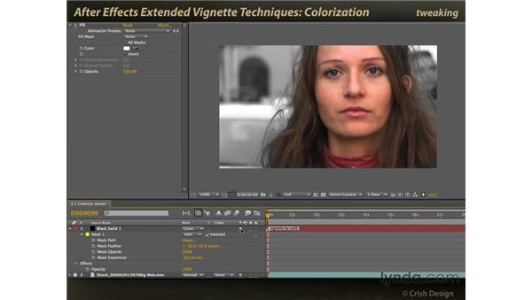 Colorization and blending modes: After Effects: Extended Vignette Techniques