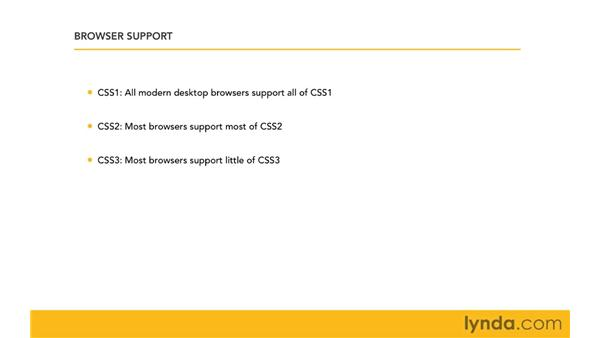 Browser support: CSS for Developers