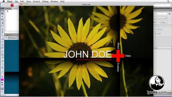 Welcome: Creating a Portfolio Web Site Using Flash CS4 Professional