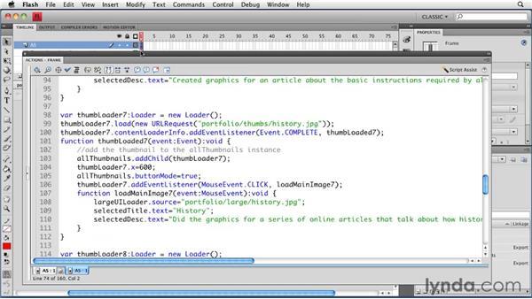 : Creating a Portfolio Web Site Using Flash CS4 Professional