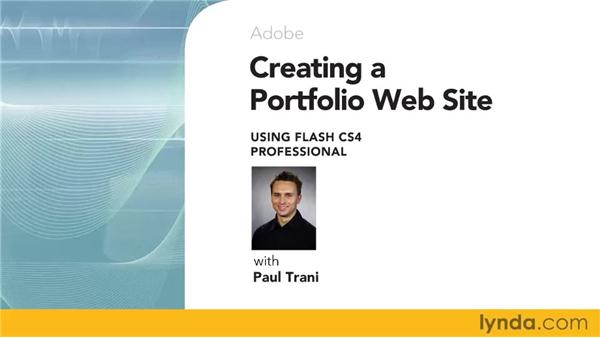 Goodbye: Creating a Portfolio Web Site Using Flash CS4 Professional