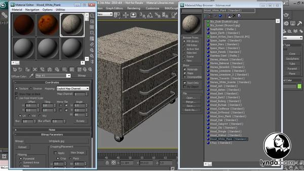 Welcome: Textures and Materials in 3ds Max