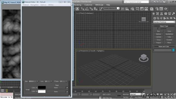 Material Editor overview: Textures and Materials in 3ds Max