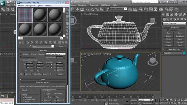 When the sample slot looks wrong: Textures and Materials in 3ds Max