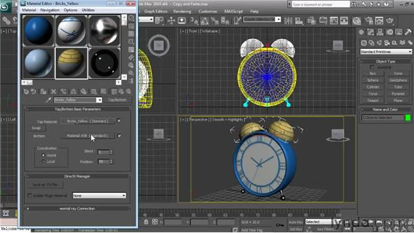 Copying and pasting materials and maps: Textures and Materials in 3ds Max