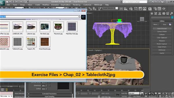 Using the Asset Browser: Textures and Materials in 3ds Max