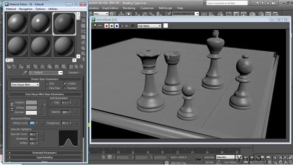 Oren-Nayer-Blinn: Textures and Materials in 3ds Max