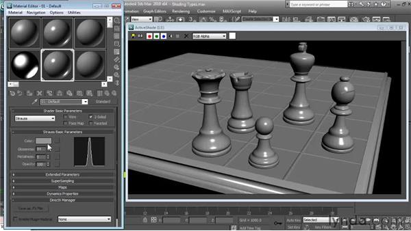 Strauss: Textures and Materials in 3ds Max