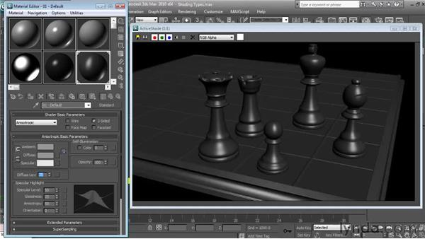 Anisotropic: Textures and Materials in 3ds Max