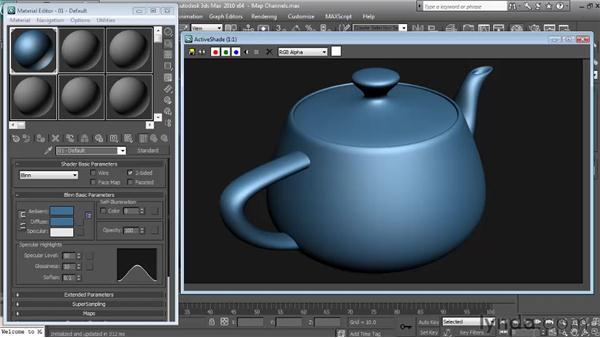 Diffuse: Textures and Materials in 3ds Max