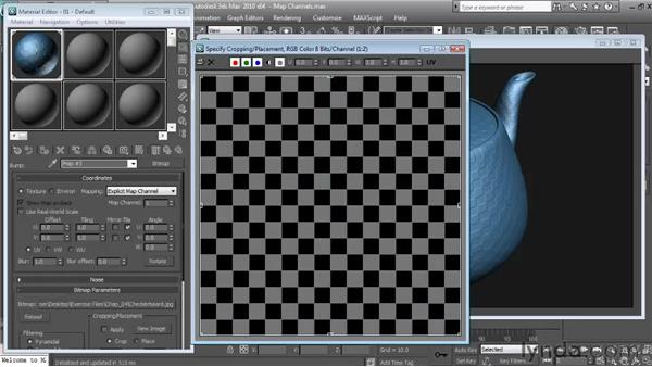 Bump : Textures and Materials in 3ds Max