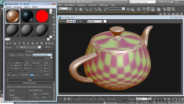 Reflection: Textures and Materials in 3ds Max
