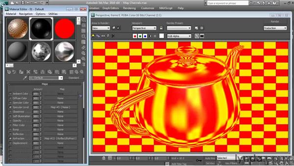 Refraction: Textures and Materials in 3ds Max