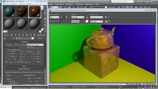 mental ray ProMaterials: Textures and Materials in 3ds Max