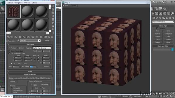Bitmap editing: Textures and Materials in 3ds Max