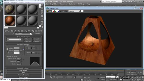 Using other procedural maps: Textures and Materials in 3ds Max