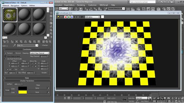 Using gradient maps  : Textures and Materials in 3ds Max