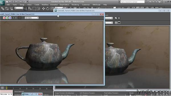Creating realistic reflections: Textures and Materials in 3ds Max