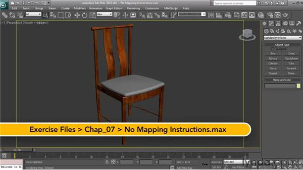 The UVW map modifier: Textures and Materials in 3ds Max