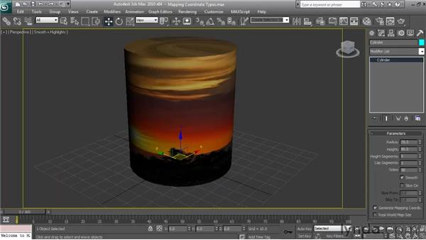 Mapping coordinate types: Textures and Materials in 3ds Max