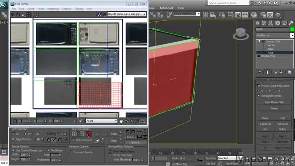 The Unwrap UVW modifier: Textures and Materials in 3ds Max