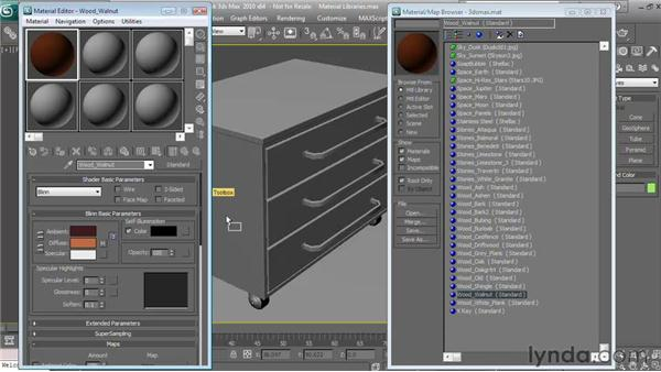 Material library essentials: Textures and Materials in 3ds Max