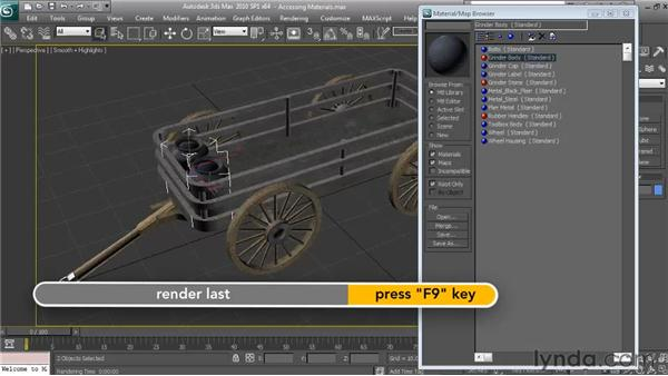 Accessing materials from a different project: Textures and Materials in 3ds Max