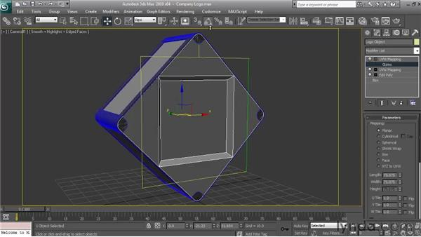 Mapping the object using multiple map channels: Textures and Materials in 3ds Max