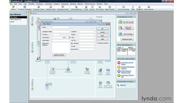 Setting up time tracking: QuickBooks Pro 2010 Essential Training