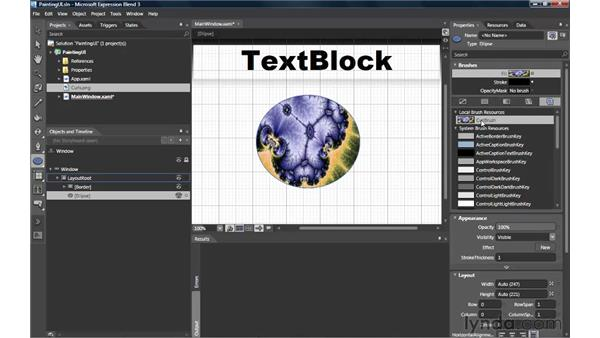Painting UI with the Image Brush: Silverlight 3 Essential Training