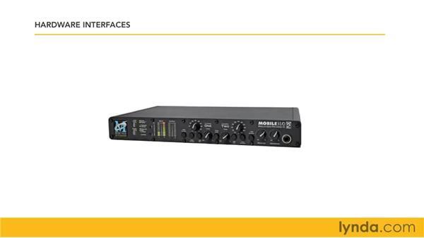 Understanding audio interfaces: Logic Pro 9 Essential Training