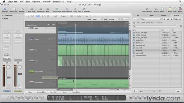 Understanding MIDI: Logic Pro 9 Essential Training