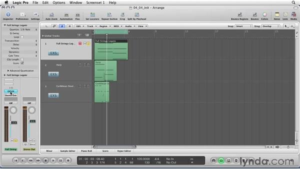 Using the EXS24 sampler: Logic Pro 9 Essential Training
