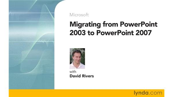 Goodbye: Migrating from PowerPoint 2003 to PowerPoint 2007