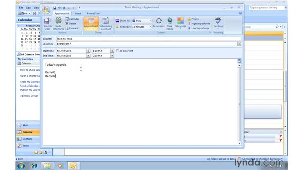 Quickly accessing relevant commands with the mini-toolbars: Migrating from Outlook 2003 to Outlook 2007