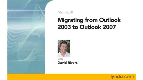 Goodbye: Migrating from Outlook 2003 to Outlook 2007
