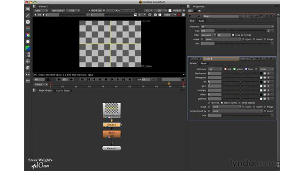 Touring the interface: Nuke 5 Essential Training