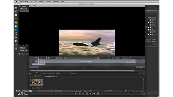 Creating a flipbook: Nuke 5 Essential Training
