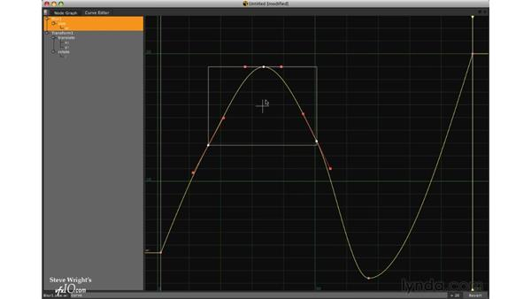 Editing curves: Nuke 5 Essential Training