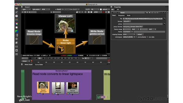 Color management workflow: Nuke 5 Essential Training