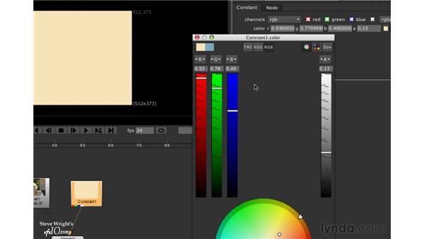 The Color Picker: Nuke 5 Essential Training